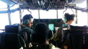 Il cockpit del velivolo C130 J partito da Pisa