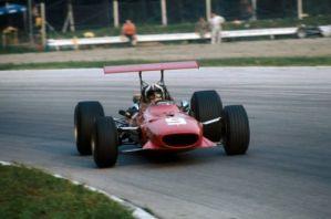 1968, la Ferrari 312 F1-68 di Amon