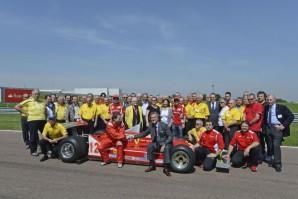 Fiorano 2012, in occasione del 30° anniversario della scomparsa di Gilles Villeneuve
