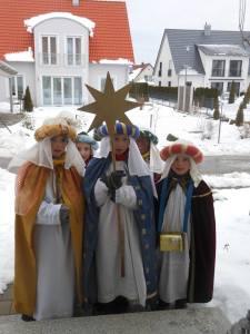 Tradizione della Stella anche in Baviera, qui siamo a Donauwörth     Tradizione della Stella anche in Anche in Baviera, qui siamo a Donauwörth © Piero Melloni