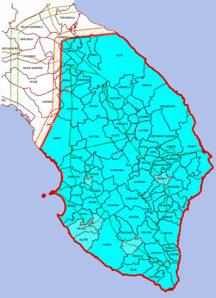 La mappa delle zone interessate dal contagio del batterio killer