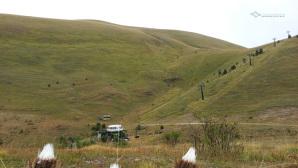 Quello che rimane della seggiovia abbandonata di Monte Cristo