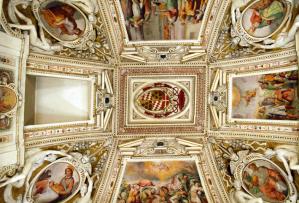 Gli affreschi della Cappella interna