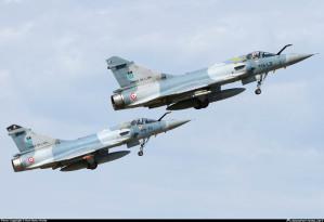 Due Dassault Mirage 2000 dell'aeronautica militare francese