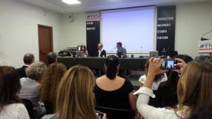 Il ministro della Difesa Pinotti in occasione del Corso per giornalisti in aree di crisi