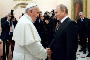 La recente visita a Roma di Vladimir Putin a Papa Francesco
