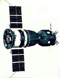 Il modulo orbitale Soyuz