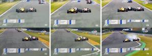 Il sorpasso di Giovinazzi su Rosenqvist a Spa