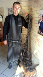 Carmine Romano, uno dei titolari del ristorante