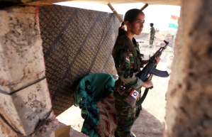 Donne Peshmerga ©SAFIN HAMED:AFP:Getty Images