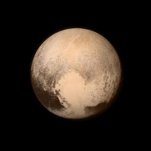 L'Immagine di Plutone più dettagliata inviata sulla terra prima del momento del massimo avvicinamento