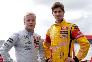 Felix Rosenqvist, vincitore con un appuntamento di anticipo il campionato Euro Fia di F.3 e Antonio Giovinazzi