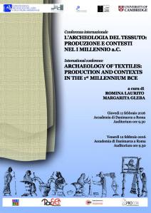 locandina Arch tessuto