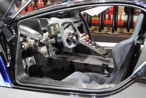 Il cockpit della Techrules