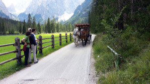 Una suggestiva immagine dell'imbocco della Val Fiscalina © manfregola