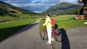 La pista ciclabile che collega San candido a Versciaco © manfregola