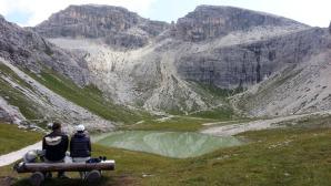 Uno scorcio dei laghetti di Pian di Cengia © manfregola