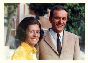 Freschi sposi, Luisa Pfeifhofe ed Eliseo Sacco