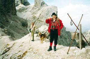 Eliseo in gita sulle Dolomiti