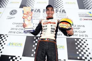 Paolo De Conto, nuovo neo-campione del Mondo della KZ, titolo conquistato in Svezia