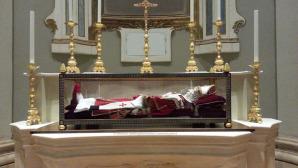 Le spoglie di papa Celestino V