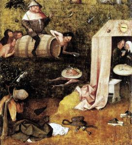 Allegoria dei Piaceri (1494) di Hieronymo Bosch