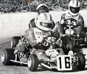 Un foto di Riccardo Patrese ai tempi del kart (Autosprint)