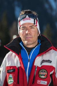 Roberto Sacco, maestro della Scuola Sci Baranci di San candido