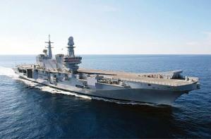La portaerei Cavour