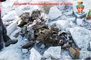 Ritrovamento dei resti di un soldato della Prima guerra in val di Fumo sull'Adamello nell'agosto del 2016