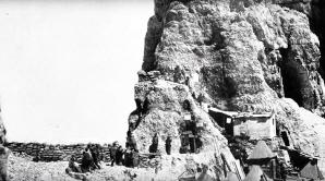 Il passo della Sentinella (2.717 metri) presiliato dalle truppe italiane nell'estate del 1916
