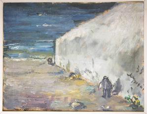 Il quadro di De Pisis, intitolato Omaggio a Fattori, che Enrico Mattei teneva nel suo studioe al quale era particolramente affezionato