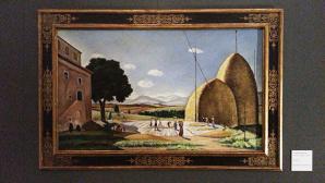 Battitura del Grano, Giovanni Colacchi (1928), dalla Collezione Generali Assicurazioni