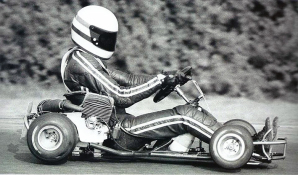 Ayrton Senna Da Silva ai tempi del karting