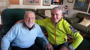 Cesare Maestri e Massimo Manfregola