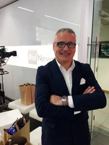 Massimo Manfregola, il giornalista documentarista, che ha realizzato il documentario su Cesare Maestri