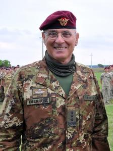 Il generale Marco Bertolini,  già comandante del Comando Operativo di Vertice Interforze  (Coi) e della Brigata Folgore