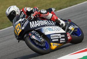 Romano Fenati in sella alla Kalex (la regina della Moto2) del team Marinelli