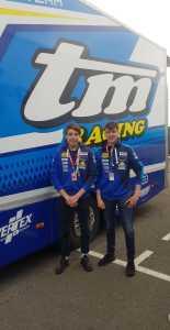 Nicola Carraro e Kevin Zannoni a Le Mans dove porteranno alti i colori italiani con il team di Davide Giugliano