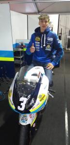 Kevin Zannoni, leader del Civ tricolore, partirà a Le Mans in quarta fila