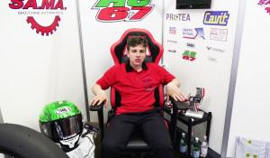 Il 14enne Alberto Surra, esordiente della Moto3 e uno dei protagonisti assoluti di questo campionato tricolore