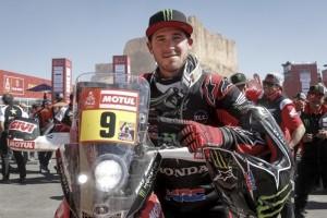 Ricky Brabec, vincitore fra le moto, la 42esima edizione della Dakar 2020
