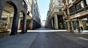 Città deserte come mai si erano viste in passato